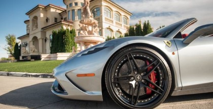 One of a kind Ferrari 458 Aperta with HRE Wheels (2)