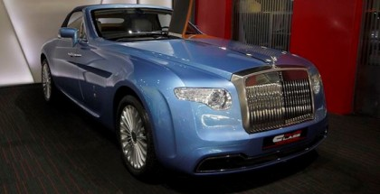 One of a kind Pininfarina Hyperion Rolls-Royce Drophead Coupe (7)