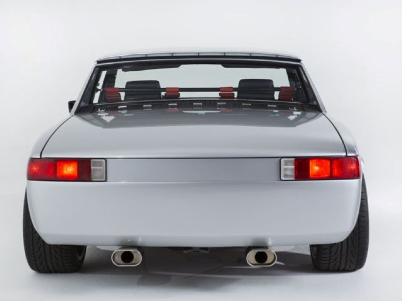 Porsche 914 With Chevy V8 Engine Swap Dpccars