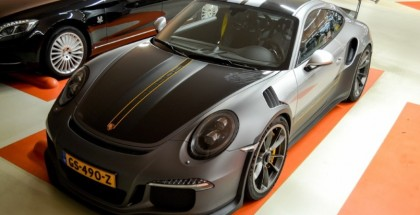 Porsche 991 GT3 RS Spotted with cool livery (6)