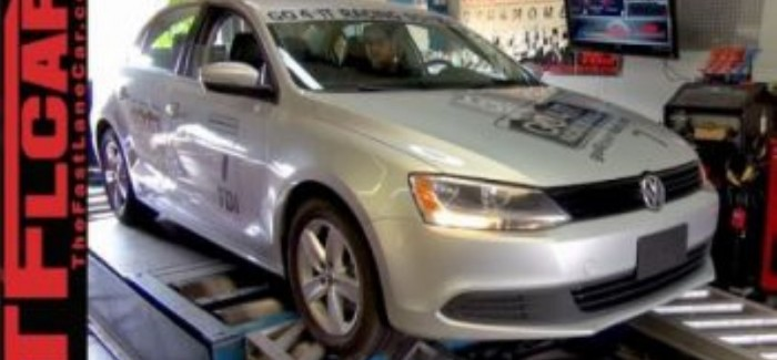 Putting a VW TDI Jetta on duno to see if it is cheating (2)