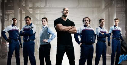 The Rock Dwayne Johnson Leads Ford Service Elite Team