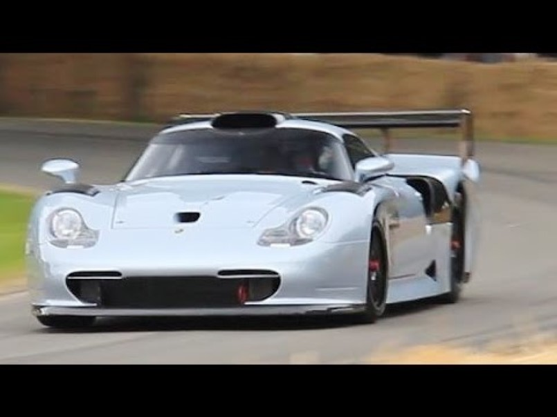 the insane exhaust sound of porsche 911 gt1 evo video dpccars. Black Bedroom Furniture Sets. Home Design Ideas