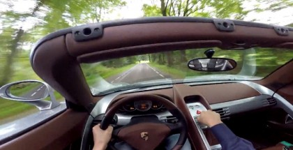The is what it sounds like when you drive a Porsche Carrera GT with Straight Pipes (1)