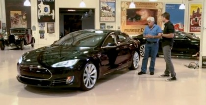 This Is Why Jay Leno Felt Like 'An Idiot' Buying His Tesla (1)