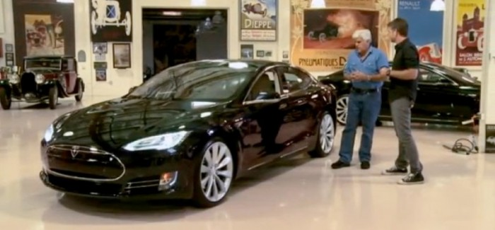 This Is Why Jay Leno Felt Like 'An Idiot' Buying His Tesla – Video