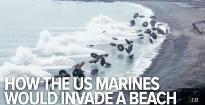 This is how the US Marines would invade a beach today
