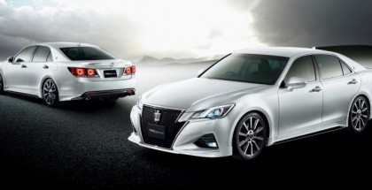 Toyota Crown facelift with TRD accessories (19)