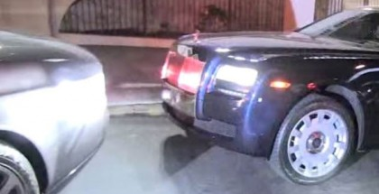 Tyga and Kylie crash their new Rolls Royce into another Rolls Royce (4)