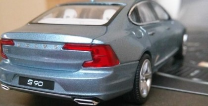 Volvo S90 scale model reveals what the new big sedan will look like (6)