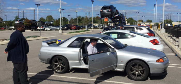 What Happen When You Take Nissan Skyline Gt R32 To Carmax