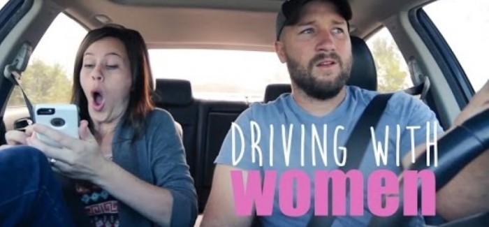 What it is like when you have a woman passenger