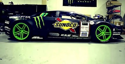 Worldu0027s First Lamborghini Drift Car By Monster Energy ...