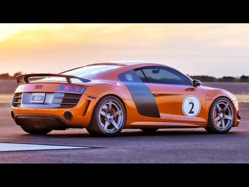 worlds fastest audi r8 with 2100 horsepower video dpccars. Black Bedroom Furniture Sets. Home Design Ideas