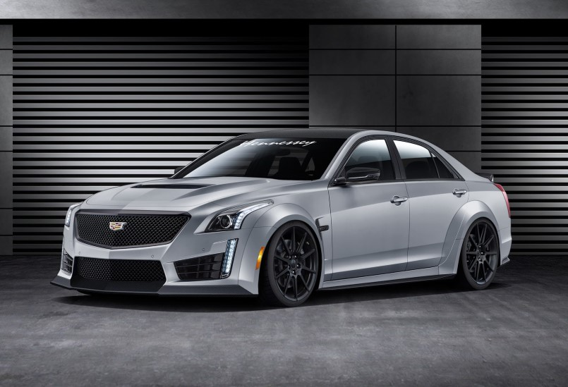 1000hp hpe1000 package 2016 cadillac cts v by hennessey. Black Bedroom Furniture Sets. Home Design Ideas