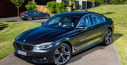 2016 BMW 5-Series Imagined (2)