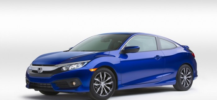 2016 Honda Civic Coupe – Official