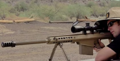 .50 Cal makes swiss cheese out of Ford F-150 (1)