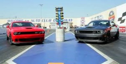 8 Fans vs Roadkill Hosts in Dodge Hellcats and Vipers (2)