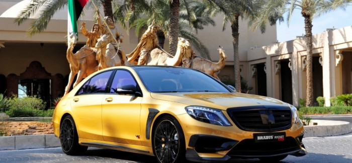 900PS gold Mercedes S65 AMG by Brabus (21)