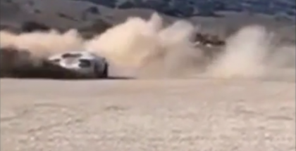 Another Lamborghini Aventador abused off roading in the sand (1)