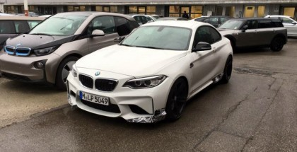BMW M2 with M Performance pack upgrades spied (1)