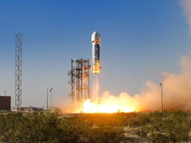 Blue Origin Historic Rocket Landing Video Dpccars
