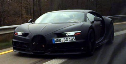 Bugatti Chiron spied again from the front (7)