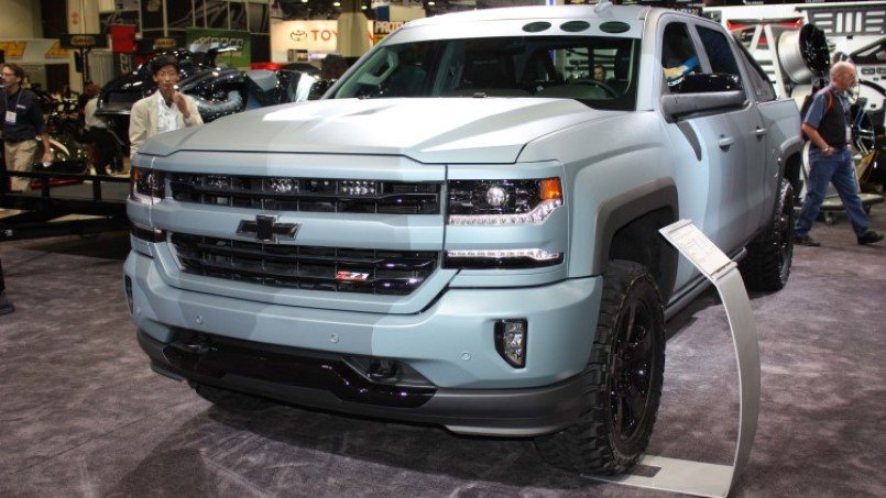 chevrolet silverado special ops concept official dpccars. Black Bedroom Furniture Sets. Home Design Ideas