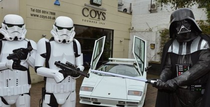 Darth Vader Selling A Lamborghini Countach (4)