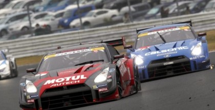 Double 1-2 Finish by GT-R Again - Super GT