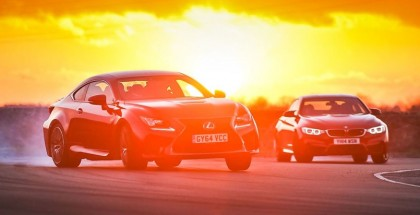 Fifth Gear Drifting Contest - BMW M4 vs Lexus RC-F (2)