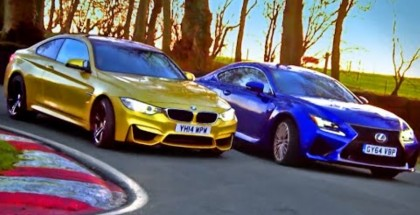 Fifth Gear - Which Is Quickest BMW M4 vs Lexus RC F Part 3 (1)