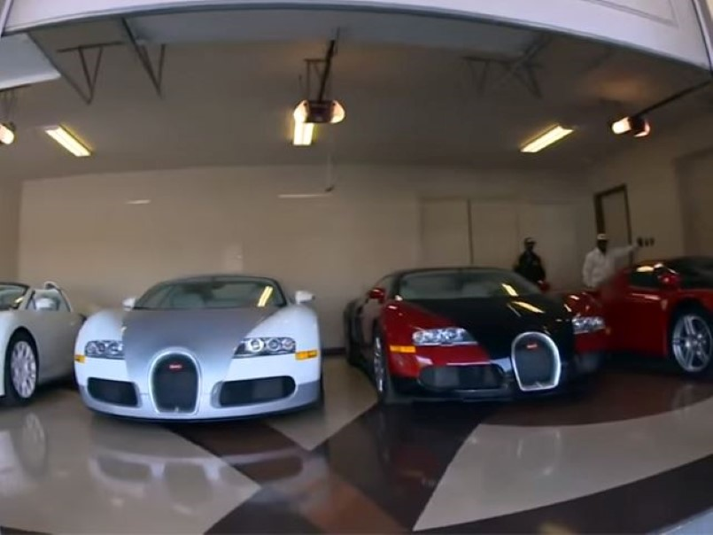 floyd mayweather garage tour video dpccars. Black Bedroom Furniture Sets. Home Design Ideas