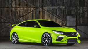 Honda to Debut 2016 Civic Coupe and Next-Gen Clarity Fuel Cell at 2015 Los Angeles Auto Show (1)