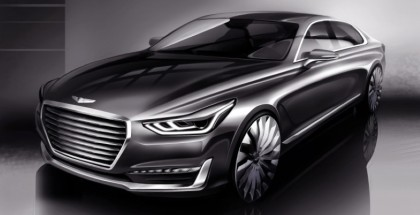 Hyundai teases Equus-replacing Genesis G90 (2)