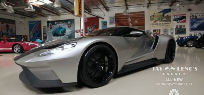 Jay Leno Top Secret Look At The New Ford Gt Video