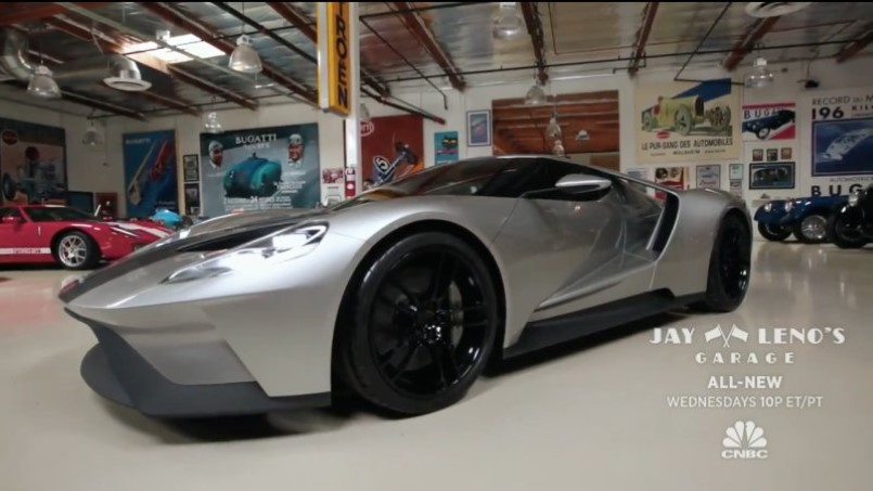 Jay Leno Top Secret Look At The New Ford Gt