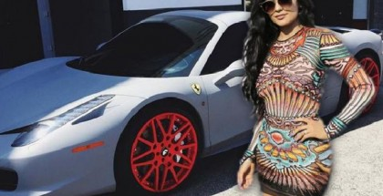Kylie Jenner Shows Off Her Car Collection (1)
