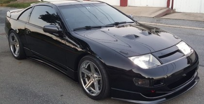LS V8 swap in a Nissan 300ZX (2)