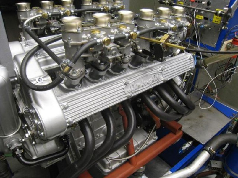 Lamborghini Miura S V12 Engine Dyno Video Dpccars