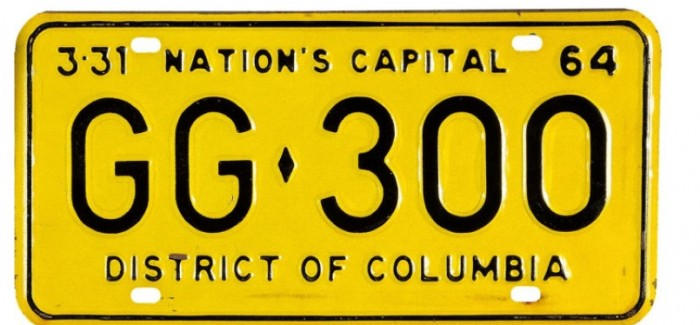 License plate from JFK's Limo sold for $100,000 (2)