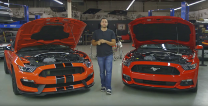 Motor Trend - 2016 Ford Mustang Shelby GT350 Review