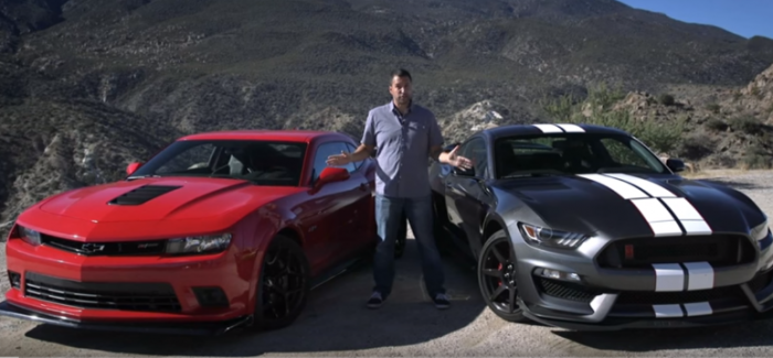 motor trend 2016 ford mustang shelby gt350r vs 2015. Black Bedroom Furniture Sets. Home Design Ideas