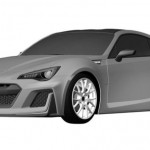 Patent Drawings For The More Extreme Subaru BRZ (1)