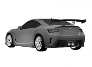Patent Drawings For The More Extreme Subaru BRZ (2)