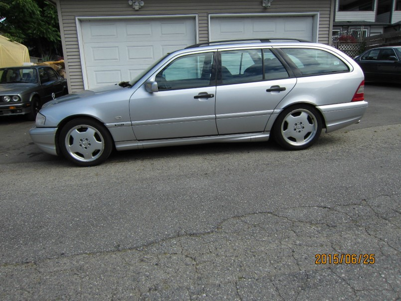 Mercedes benz forum rare 1999 mercedes amg c43 estate for Mercedes benz amg wagon for sale