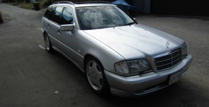 Rare 1999 Mercedes AMG C43 ESTATE Wagon for sale (24)