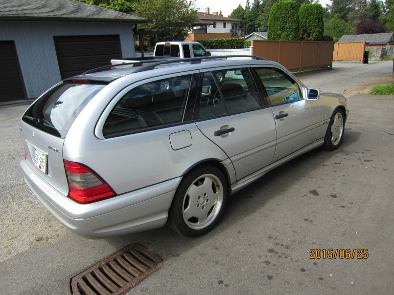 Rare 1999 mercedes amg c43 estate wagon for sale dpccars for Mercedes benz amg wagon for sale