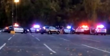 Ridiculous Police Chase in Mall Parking Lot (1)